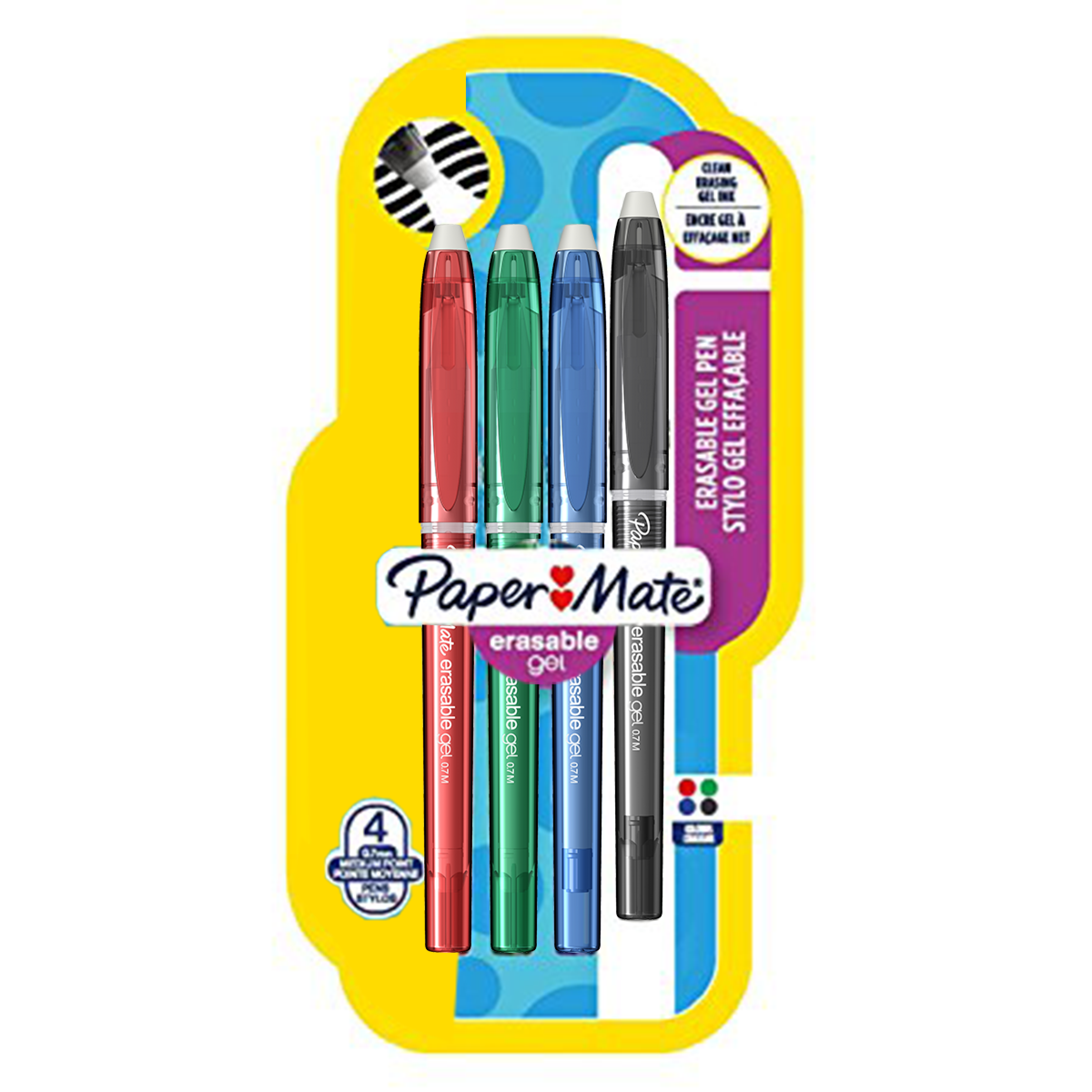 Set 4 Erasable Gel Standard-349